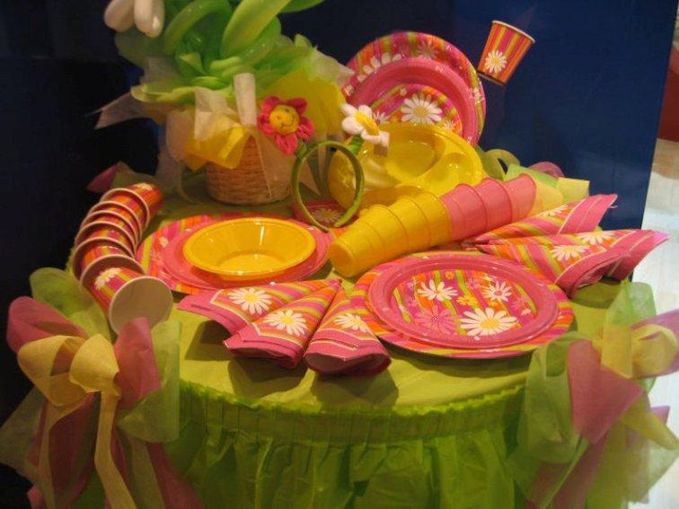 Tavolo Compleanno Bambina : Come decorare il tavolo da buffet partytime shop blog