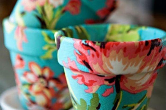 Come dipingere il tuo vaso di terracotta partytime shop blog - Decorare vasi terracotta ...